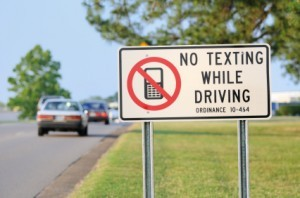 traffic tickets texting while driving